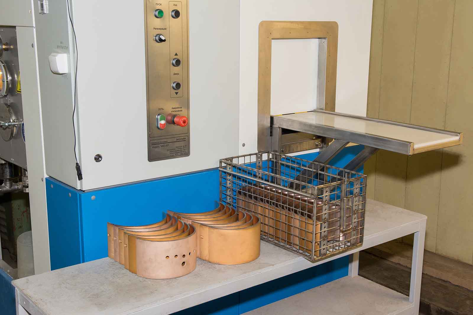 Загрузочный люк моечной машины МКС-50